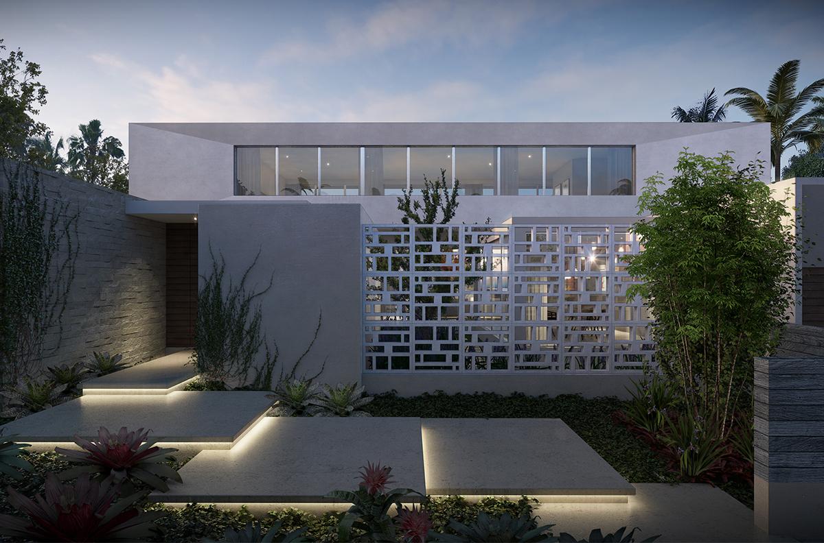 Las olas isles residence cadence cadence for Florida residential architects