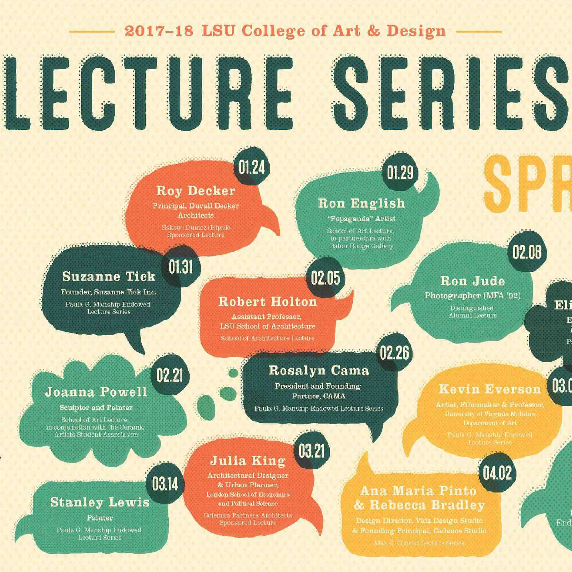 Lecture Series: LSU Lecture Series